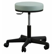 <strong>Oakworks</strong> Premium Stool with Round Swivel Seat