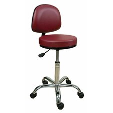 Professional Stool with Adjustable Backrest