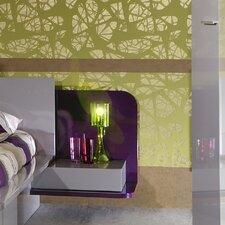 """Linker Nachttisch """"Purple 42"""" mit Verlängerung"""