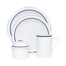 Christianshavn Blue 4 Piece Place Setting Set