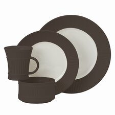 Flamestone Brown 4 Piece Place Setting
