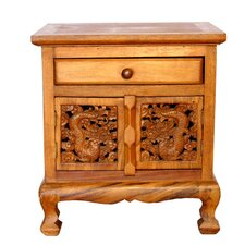 Tropical Acacia Nightstand