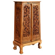"""Acacia 27"""" Bamboo Forest Storage Cabinet"""