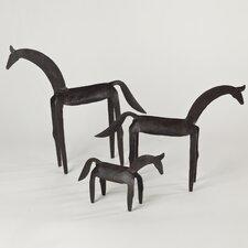 Primitive Horse Statue