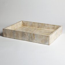 Driftwood Rectangular Tray