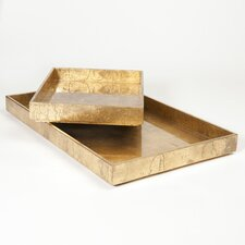 Leaf Rectangle Tray