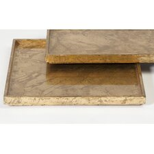 Leaf Square Plateau Tray