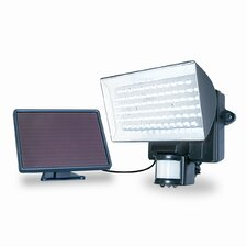 <strong>Maxsa Innovations</strong> Solar Powered 80 LED Motion-Activated Outdoor Security Floodlight