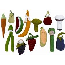 Veggies Eggplant Plush Toy