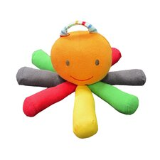<strong>Under the Nile</strong> Stripes and Brights Scraptopus Toy in Multi Color