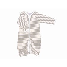 <strong>Under the Nile</strong> Nature's Nursery Convertible Baggie Baby Clothing in Tan Stripes