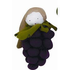 Veggies Grape Plush Toy