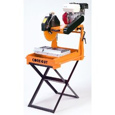 "13 Amp 1.5 HP 14"" Blade Capacity Dry and Wet Masonry Saw"