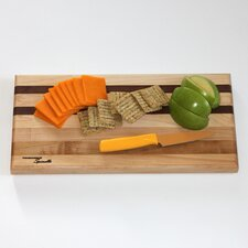 <strong>Tableboards</strong> Medium Maple Utility Cutting Board with Walnut Accent