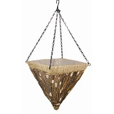 <strong>Robert Allen</strong> Kirkwood Square Hanging Planter (Set of 2)