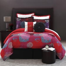 <strong>Luxury Home</strong> Zinnia 8 Piece Comforter Set