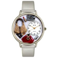 Unisex Purse Lover Watch in Silver