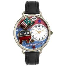 Unisex Republican Watch in Silver