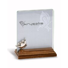 Majestic Sterling Silver and Wood Picture Frame