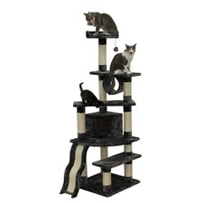"<strong>Kitty Mansions</strong> 71"" Shanghai Cat Tree"