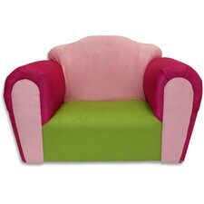 Kid's Bubble Rocking Microsuede Chair