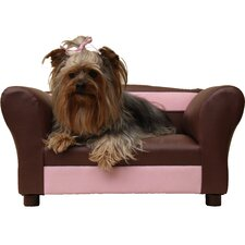Mini Sofa Leather Pet Bed