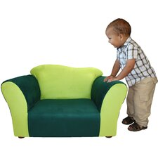 <strong>Fantasy Furniture</strong> Kid's Wave Microsuede Chair
