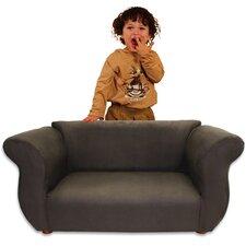 Kid's Fancy Microsuede Sofa