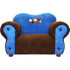 <strong>Fantasy Furniture</strong> Comfy Kid's Club Chair