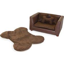 Deluxe Orthopedic Memory Foam Dog Chair Set