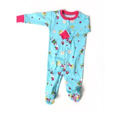 <strong>New Jammies</strong> Flower Girl Organic Cotton Footie