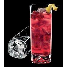 On the Rocks 15 Oz. Beverage DOF Glass (Set of 4)
