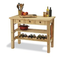 Arts and Crafts Kitchen Island