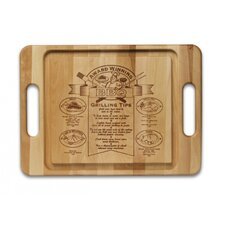 <strong>Snow River</strong> Specialty Item Barbeque Cutting Board