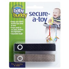 <strong>Baby Buddy</strong> 2ct Secure-A-Toy