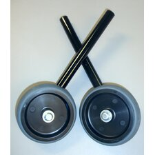 "5"" Wheel Kit for 2119B and 2156B in Black"