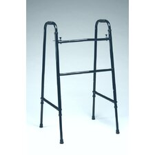 <strong>TFI</strong> Tall Wide Double Button Folding Walker in Black