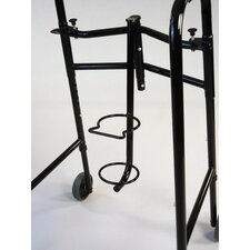 Oxygen Tank Holder in Black for All Walker