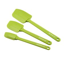 Tools 3-Piece Spatula Set in Green