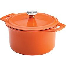 Cast Iron 5-qt. Round Dutch Oven