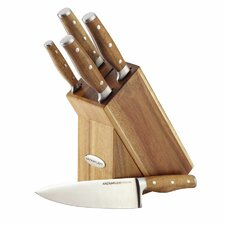 Cucina 6 Piece Japanese Stainless Steel Knife Set