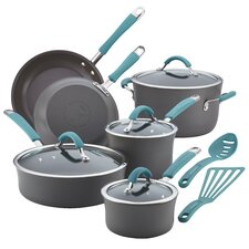 Cucina Hard-Anodized Nonstick 12-Piece Cookware Set