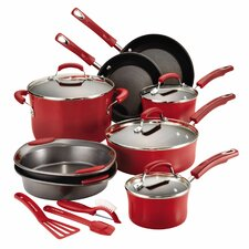 Hard Enamel 15 Piece Cookware Set