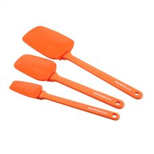 Tools 3-Piece Spoonula Set in Orange