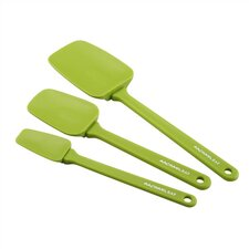 <strong>Rachael Ray</strong> Tools 3-Piece Spoonula Set in Green