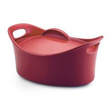 <strong>Rachael Ray</strong> Bubble and Brown 4.25-Qt. Stoneware Casserole