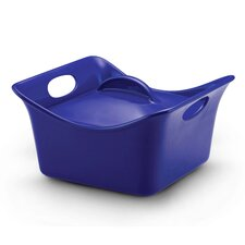 Stoneware 3.5 Qt. Covered Square Casserole
