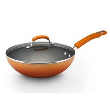 "Porcelain II 11"" Non-Stick Frying Pan with Lid"