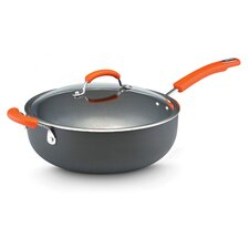 Hard Anodized II Nonstick 6 Qt. Covered Chef Pan