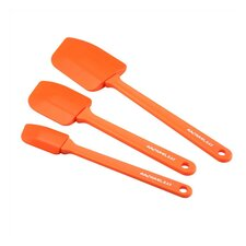 Tools 3-Piece Spatula Set in Orange